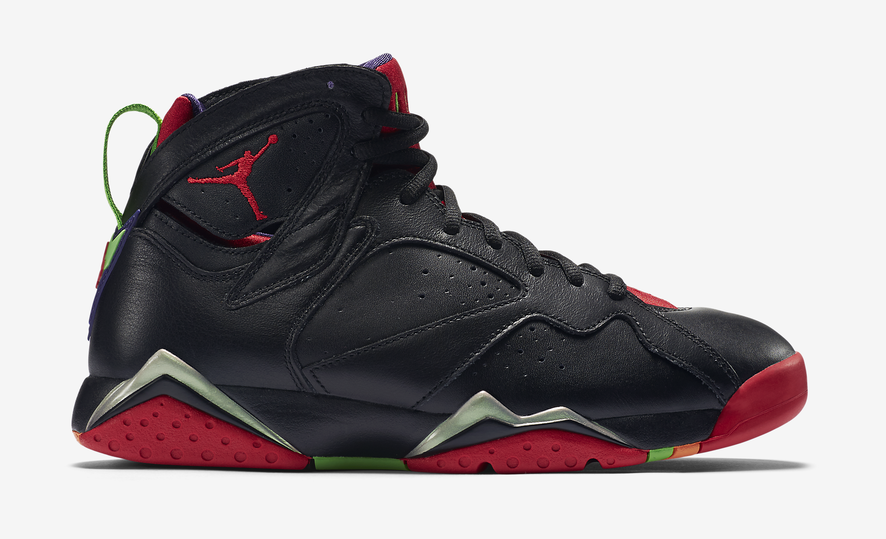"Jordan Retro 7 ""Marvin The Martian"" on sale for $120"