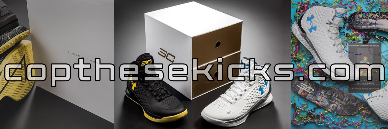 """Under Armour Curry One """"Splash Party"""" PE Release Info"""