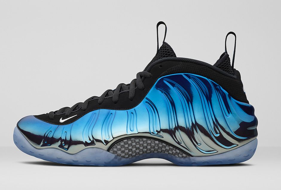 Nike Foamposite One 'Blue Mirror' Release Links