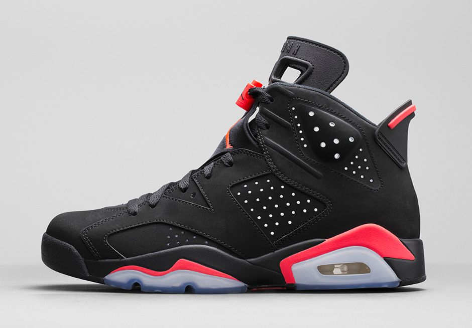 Jordan 6 Retro 'Black Infrared'