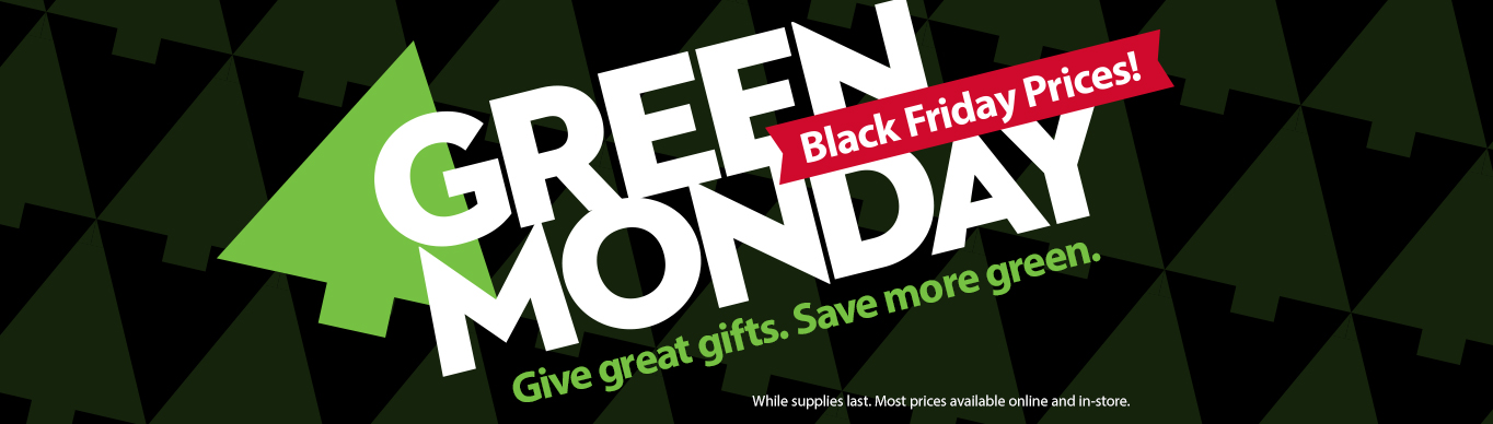 Huge Green Monday Sale