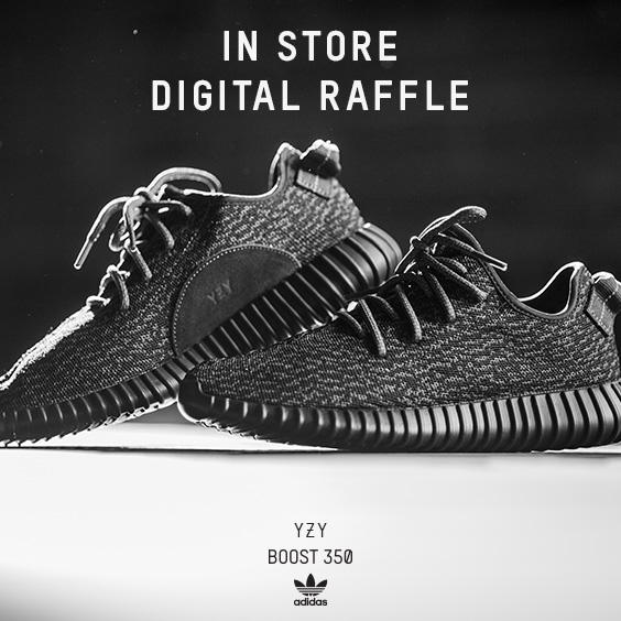 Last day to enter Yeezy Raffles