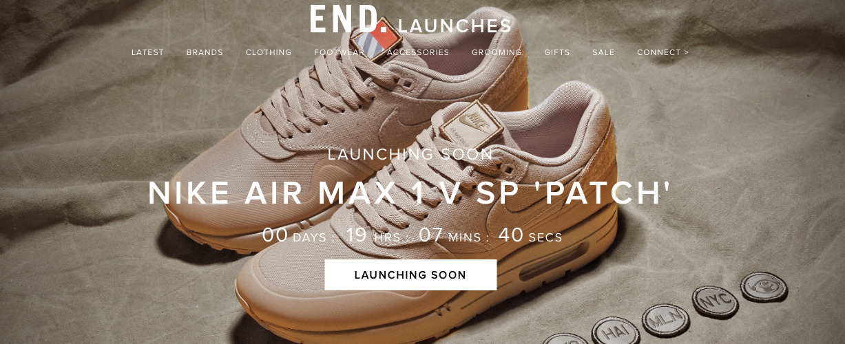 END. Launches Bringing Restocks and Limited Releases
