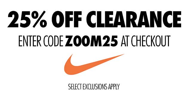 Another Nike 25% Off Coupon
