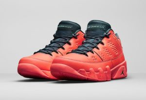 Jordan Retro 9 Low Bright Mango On Sale