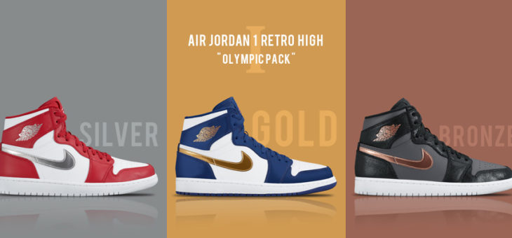 "Jordan Retro 1 ""Olympic Pack"" Now Available"