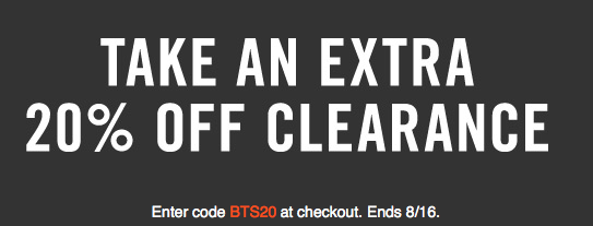 Extra 20% Off Nike Coupon