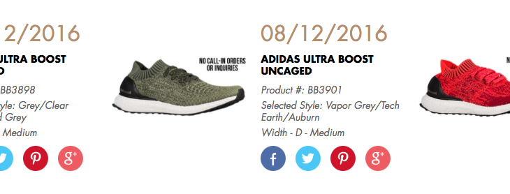 Another Ultra Boost Uncaged Re-Release