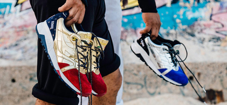 "Sizes Available for the Social Status x Diadora ""Rio Medal Pack"""