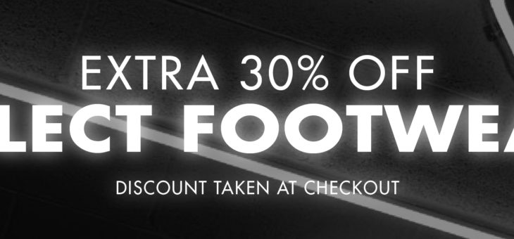 Extra 30% Off Kicks – Discount In Cart