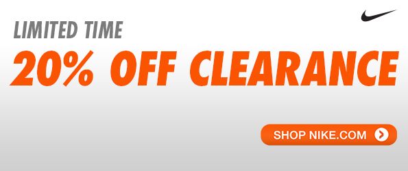 Take an Extra 20% off Nike