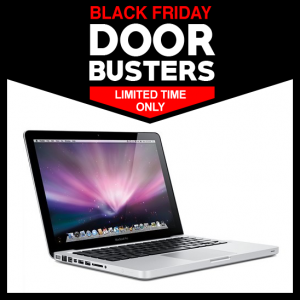 Black Friday Apple MacBook Deals – Starting at $140 w/FREE SHIPPING and NO TAX