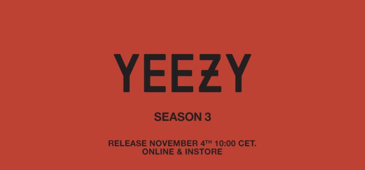 Yeezy Season 3 Release Links