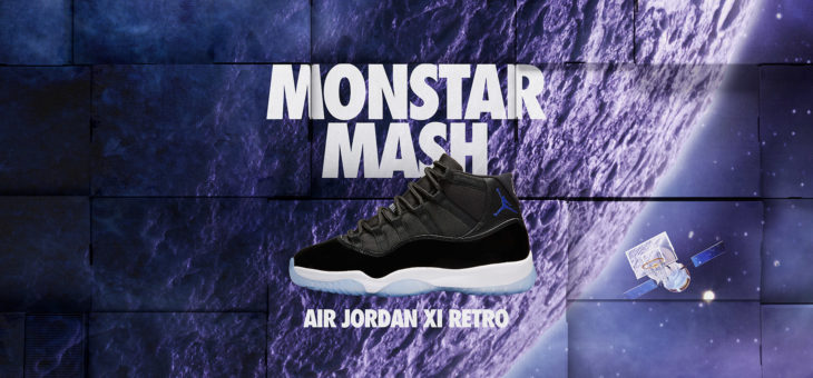 """Air Jordan XI Retro """"Space Jam"""" Monster Mash Release Links"""