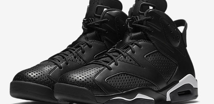 "Jordan Retro 6 ""Black Cat"" on sale for $133"