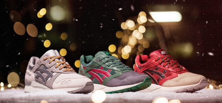 "Asics Xmas Pack ""Santa"" and ""Christmas Tree"" on sale for $27"