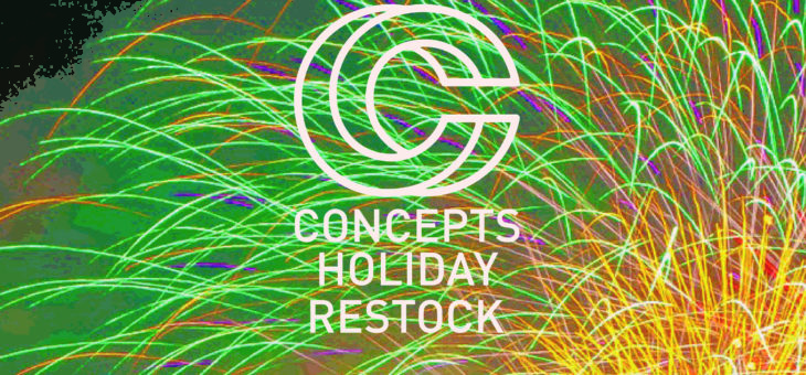 Concepts Collaboration Holiday Restock