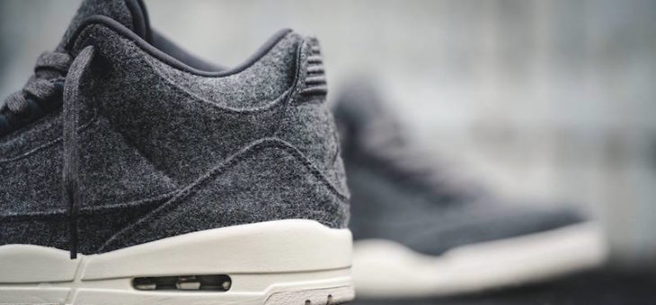 Jordan Retro 3 Wool Under Retail