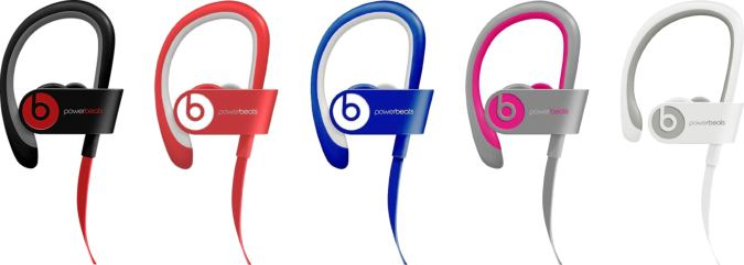 New Open Box Beats Wireless Powerbeats 2 Bluetooth Headphones under $70 with Free Shipping