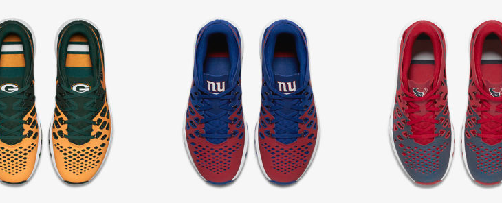 Nike Train Speed 4 NFL on sale for $62.25 with Free Shipping