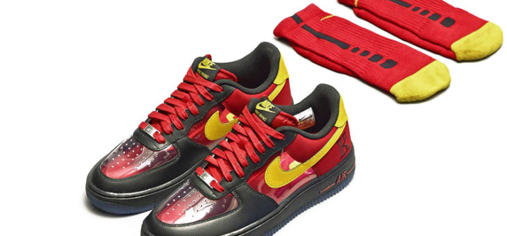 "Nike AF1 Kyrie Irving ""Cavs"" on sale for $56"
