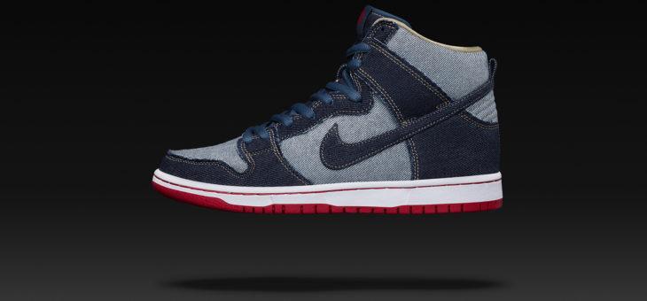"February 23 Release – Nike Dunk OG High ""Reese Denim"""