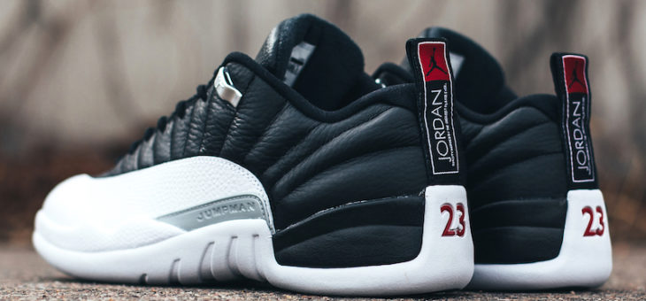 "Jordan Retro 12 Low ""Playoffs"" Available Early"