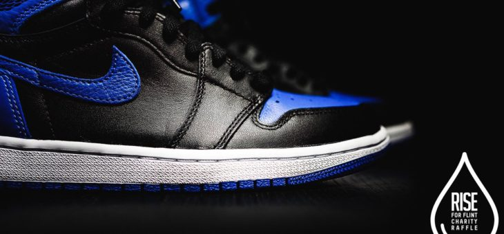Raffle With a Cause – RISE Retro 1 Royal to aid the Flint Water Crisis