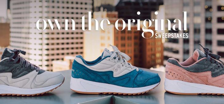 Saucony Sneaker Giveaway – Own The Original Sweepstakes