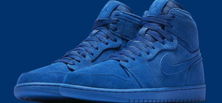 "Jordan Retro 1 High ""Blue Suede"" Under Retail (style 332550-404)"