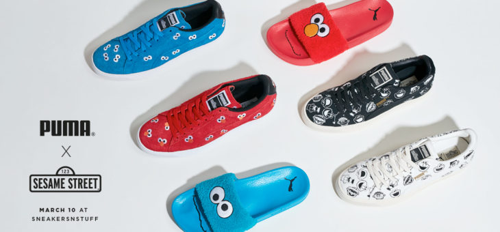 Sesame Street x Puma Collection Early Release