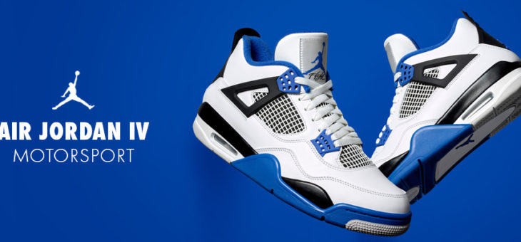 Jordan Retro 4 Motorsport Under Retail with FREE Shipping