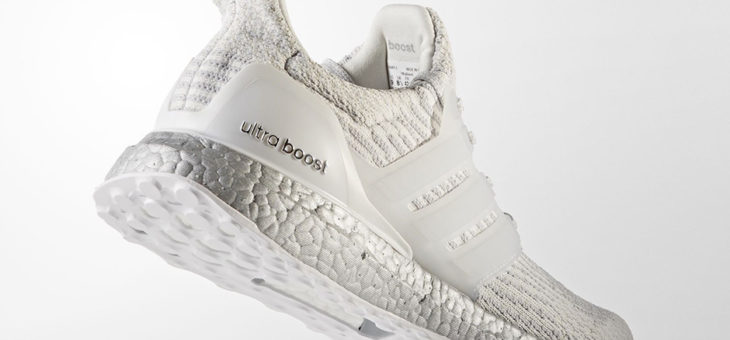 "Adidas Ultra Boost Crystal White ""Silver Boost"" (BA8922) Release Links"