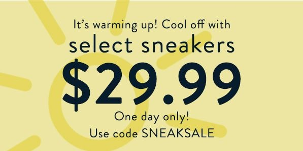 TODAY ONLY – Sperry Shoe Sale – Only $29.99 w/Coupon