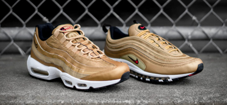 Nike Air Max Gold Pack drops in 15 minutes!