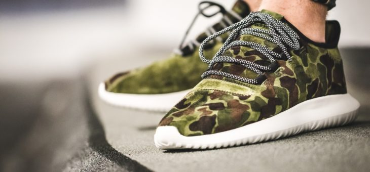 adidas Tubular Shadow Green Camo is only $71.99 (normally $120)