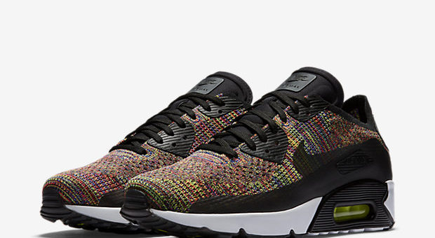 Air Max 90 Flyknit Multicolor on sale for $104 (retail $160)