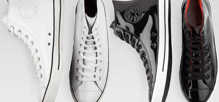 Converse Chuck Taylor All-Star Patent Leather on sale for $28 (retail $70)