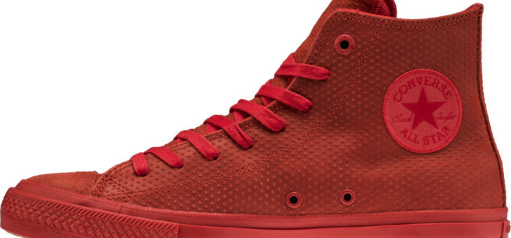 Triple Red Converse Chuck Taylor All-Star II is $46 w/Free Shipping