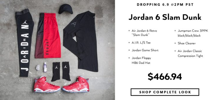 "Jordan Retro 6 ""Slam Dunk Pack"" Fri-Js Restock"
