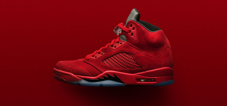 "Jordan Retro 5 ""Flight Suit"" Release Links"