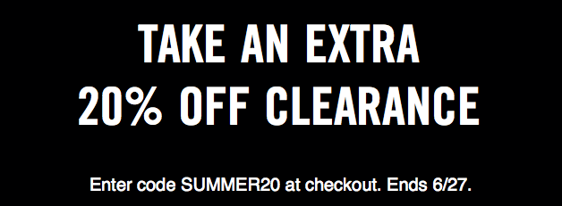 Save an Extra 20% off Nike with Summer Coupon