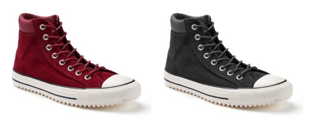 70% OFF – Converse Chuck Taylor All Star Waterproof Suede Boot on sale for only $24