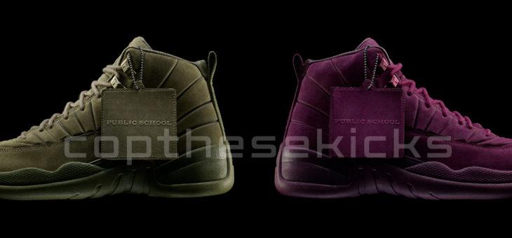 PSNY x Jordan Retro 12 European Release