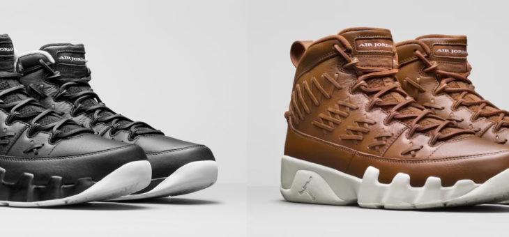"Air Jordan Retro 9 ""Baseball Glove"" Release"