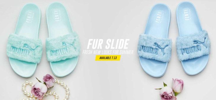 Rihanna x Puma Fenty Fur Slide Release Links