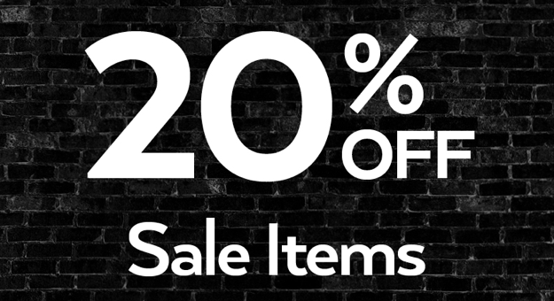 One Day Sale – Extra 20% Off Sale Items