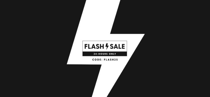 24 Hour Flash Sale – 25% Off Kicks + Free Shipping