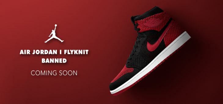 The Air Jordan 1 Flyknit Banned drops in 30 minutes