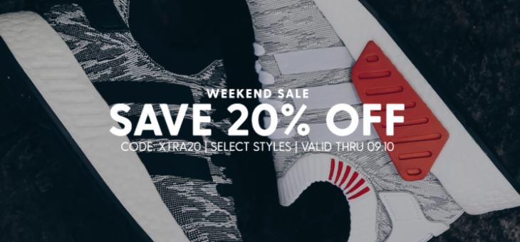 Extra 20% off adidas Ultra Boost, NMD and more